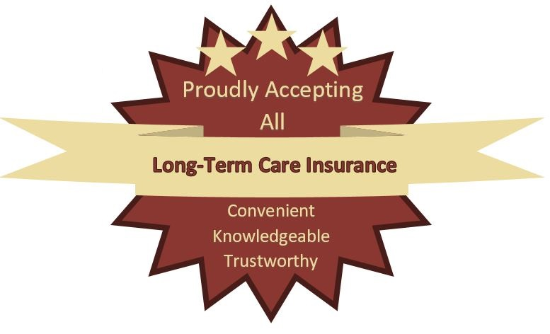 Accepts Long Term Care Insurance